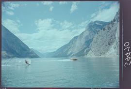 Waterskiing, Seton Lake