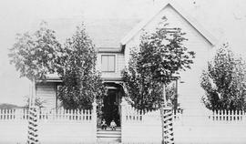 The residence of Mr. and Mrs. James Frederick Fell, Pandora Avenue, Victoria.