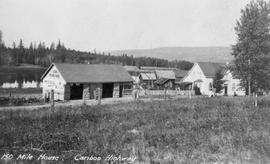 """150 Mile House, Cariboo Highway."""