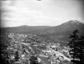 The west end of Rossland.