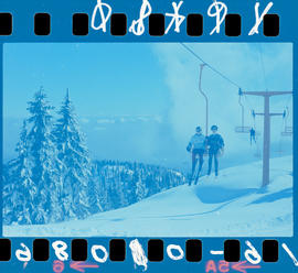 Chairlift at Mount Seymour, Vancouver.
