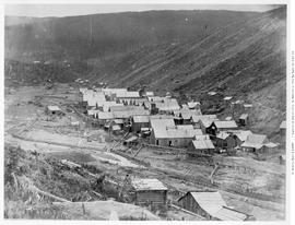 The Town of Barkerville, Williams Creek, Cariboo before the fire