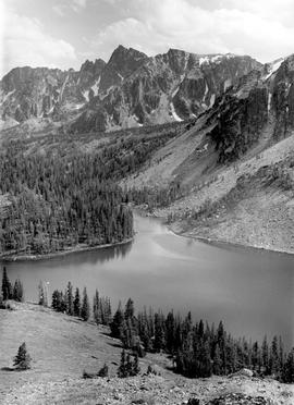Cathedral Park, Mountains And Ladyslipper Lake