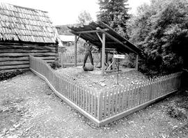 Barkerville. Barker Mine Entrance