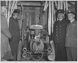 Auxiliary fire-fighting unit constructed by fire department, Prince Rupert, with Bickle-Seagrave ...