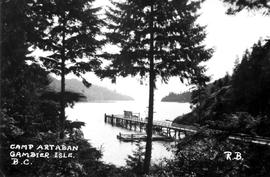 Dock At Camp Artaban, Gambier Island