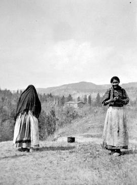 Beaver women at Hudson's Hope, 1912.