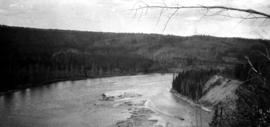 """Halfway River Indian Reserve and river""; Pacific Great Eastern Railway lands survey of..."