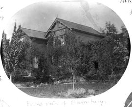 """Front view of Barnsbury""; the E.F. Wilson home."
