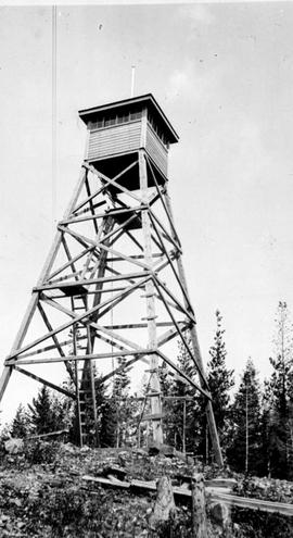 A lookout tower in BC.