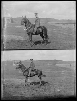 11th CMR soldiers on horseback