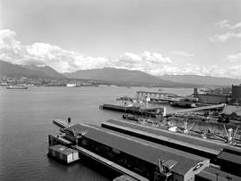 Great Northern Dock, Vancouver Harbour And Burrard Inlet