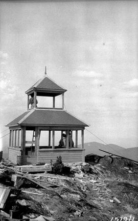 Forest Service; Baldy Mountain lookout.