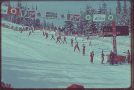 World Cup Skiing, Whistler Mountain, Garibaldi Park