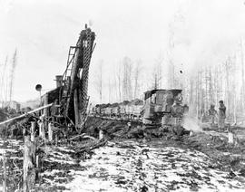 Grand Trunk Pacific Railway construction at Decker Lake.