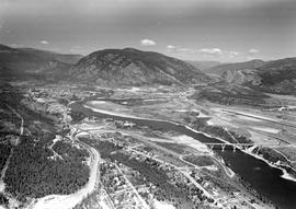 Castlegar And Kinnaird Aerial