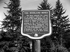 Stop Of Interest Sign - Rossland