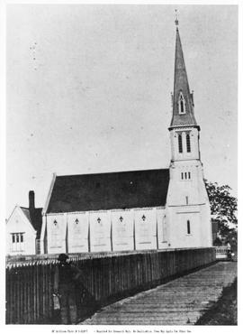First Presbyterian Church, Victoria; Corner Of Pandora  Avenue And Blanshard Street.