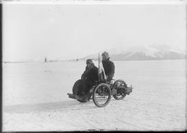 First car in Atlin; imported from France; owned by Count Lemare