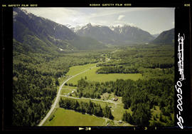 Aerial, Bella Coola Valley