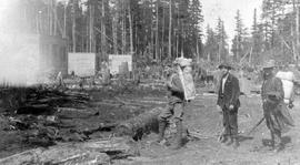 Queen Charlotte Islands Surveyors at Masset