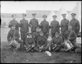 Buglers and drummers