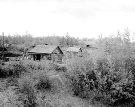 Settlers Cabins Near Pouce Coupe