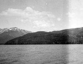 Southwest arm of Morice Lake.