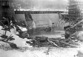 Ocean Falls pulp and paper mill; sealing the last hole in the dam