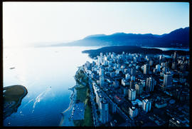 Aerial Of English Bay, Vancouver