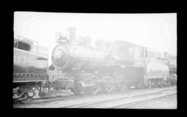 0-6-0, No. 6151, Switcher; Drake Street yard, Vancouver.