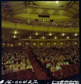 Audience, Orpheum Theatre, Vancouver