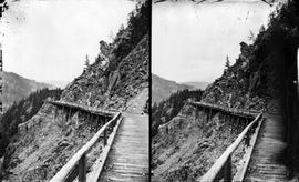 The Cariboo Road, stereo view