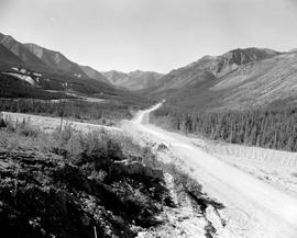 Alaska Highway Near Muncho Lake