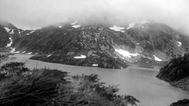 Siffleur Lake in Penteuch Pass.