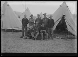 Soldiers from the 62nd Battalion at Vernon Camp
