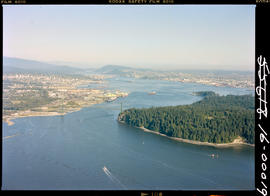 Aerial, Vancouver Harbour