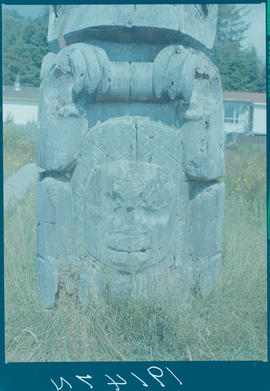 Totem Pole, Skidegate Mission Queen Charlotte Islands