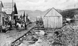 Main street in Barkerville