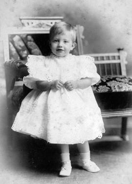 R.H.B. Ker as a child