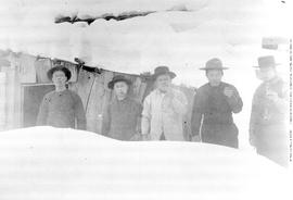 Group Of Chinese Men, Barkerville.