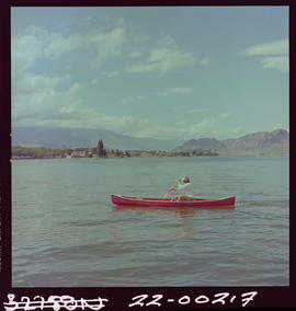 Canoeing On Osoyoos Lake