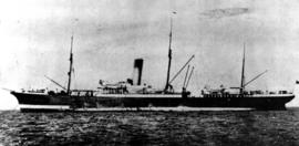 The original SS Aorangi, of the Canadian Australasian Line, operated between Vancouver and Austra...