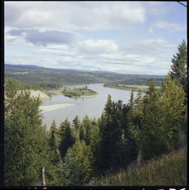 Fraser River at Alexandria, approximately twenty miles south of Quesnel.