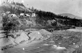 Mining On Spruce Creek Near Atlin.