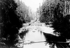 """Nanaimo Dam construction, 10th Sep 1930"", No 20."