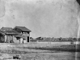 [Canton, China]  19.  End Comms. Store and the remains of the French Folly from near the telegrap...
