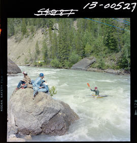 Whitewater Kayaking At Toby Creek. Invermere