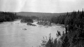 Fort George canyon, Fraser River.