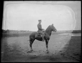 11th CMR soldier on horse